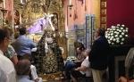 Visita de nuestros mayores y enfermos a la Santisima Virgen