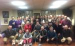 Homenaje de la Hermandad a su cuadrilla de costaleros